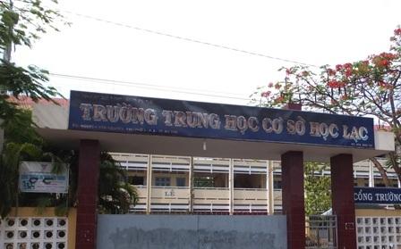 Cả 2 nữ sinh đều học tại Trường THCS Học Lạc.