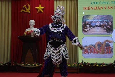 Độc đáo mặt nạ, mão trong sân khấu dân gian của đồng bào Khmer - 4