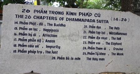 """Về Vĩnh Long chiêm ngưỡng vườn kinh bằng đá """"độc nhất vô nhị"""" ở chùa Phước Hậu - 5"""