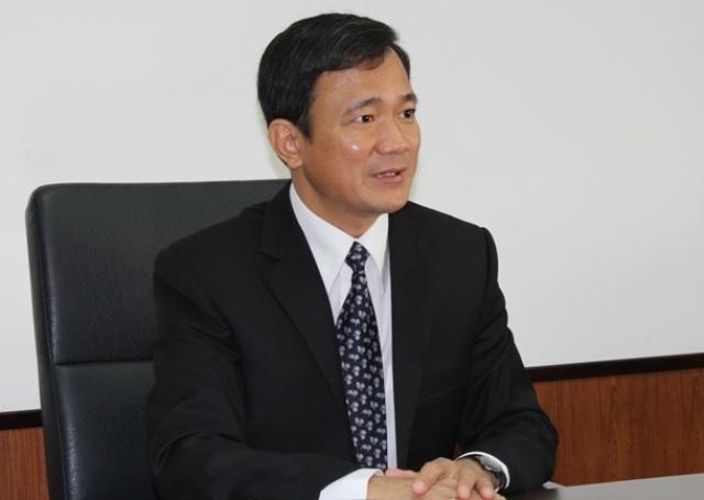 Ông Lê Vinh Danh, Hiệu trưởng trường ĐH Tôn Đức Thắng.