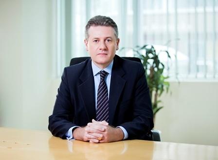 Ông Wilf Blackburn,CEO của Prudential