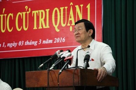 """Chủ tịch nước Trương Tấn Sang: """"Sợ nhất những buổi chợ chiều…"""""""