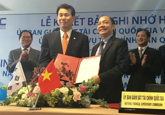 Bản ghi nhớ hợp tác này mở ra cơ hội cho Ủy ban giám sát Tài chính Quốc gia của Việt nam tiếp cận được các nguồn lực quốc tế