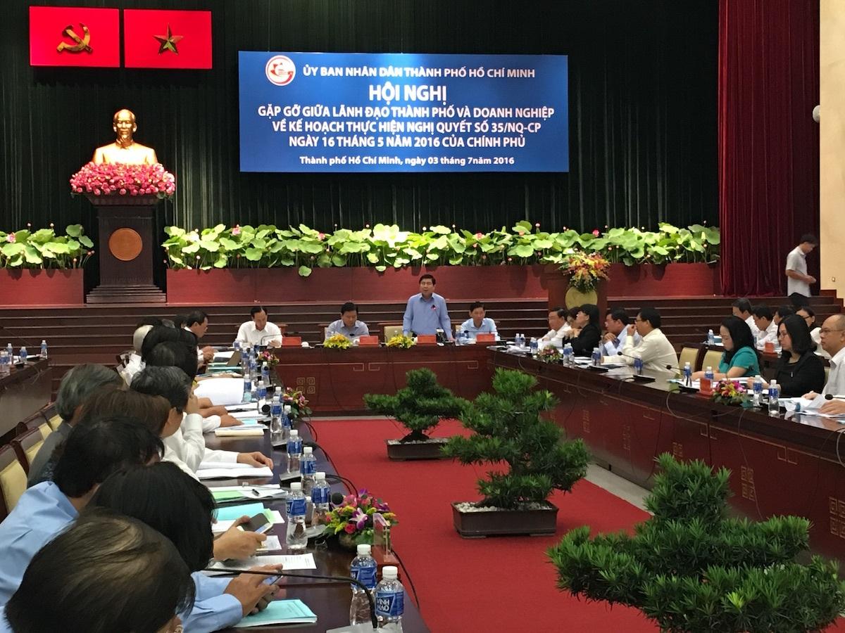Chủ tịch UBND TPHCM Nguyễn Thành Phong mong cdc doanh nhân, doanh nghiệp Việt gắn kết nhiều hơn nữa