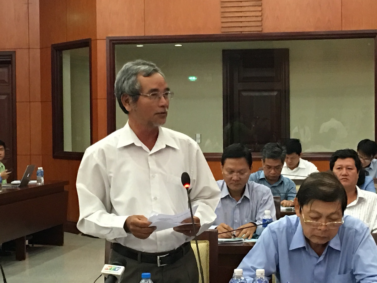 Ông Nguyễn Quốc Anh, Chủ tịch Hiệp hội Cao su - Nhựa TPHCM khẳng định, con số 500.000 doanh nghiệp đặt ra rất mơ hồ