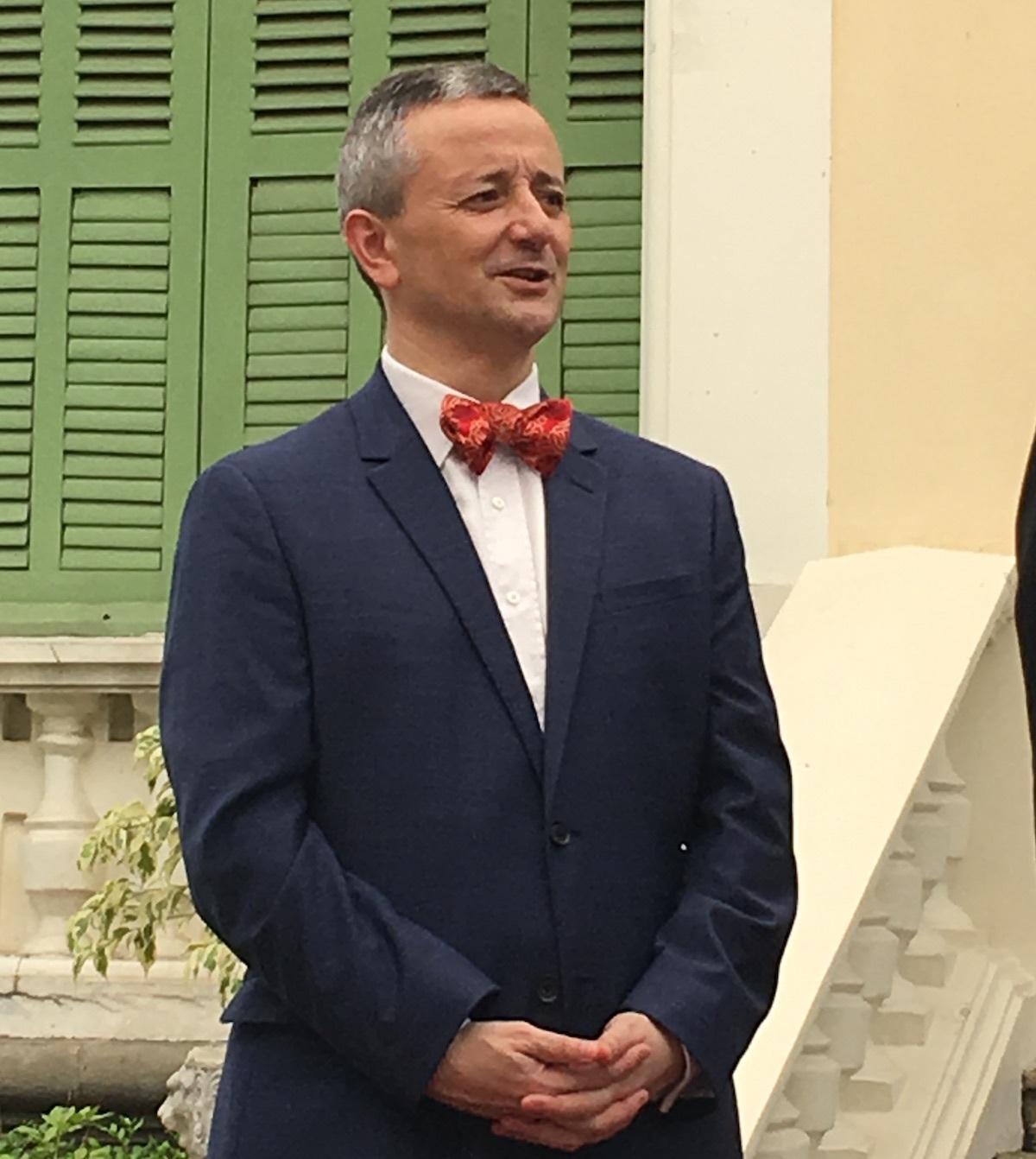 Ông Emmanuel Ly Batallan, Tổng lãnh sự Pháp tại TPHCM khẳng định người Pháp muốn chung tay đưa TPHCM trở thành hòn ngọc Viễn Đông