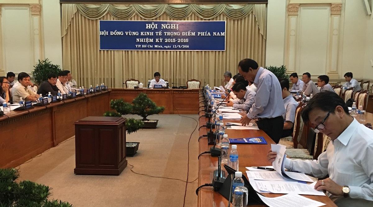 Các tỉnh bàn giải pháp phát triển kinh tế vùng