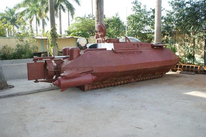 Cận cảnh con tàu Hoàng Sa do doanh nhân Nguyễn Quốc Hòa chế tạo