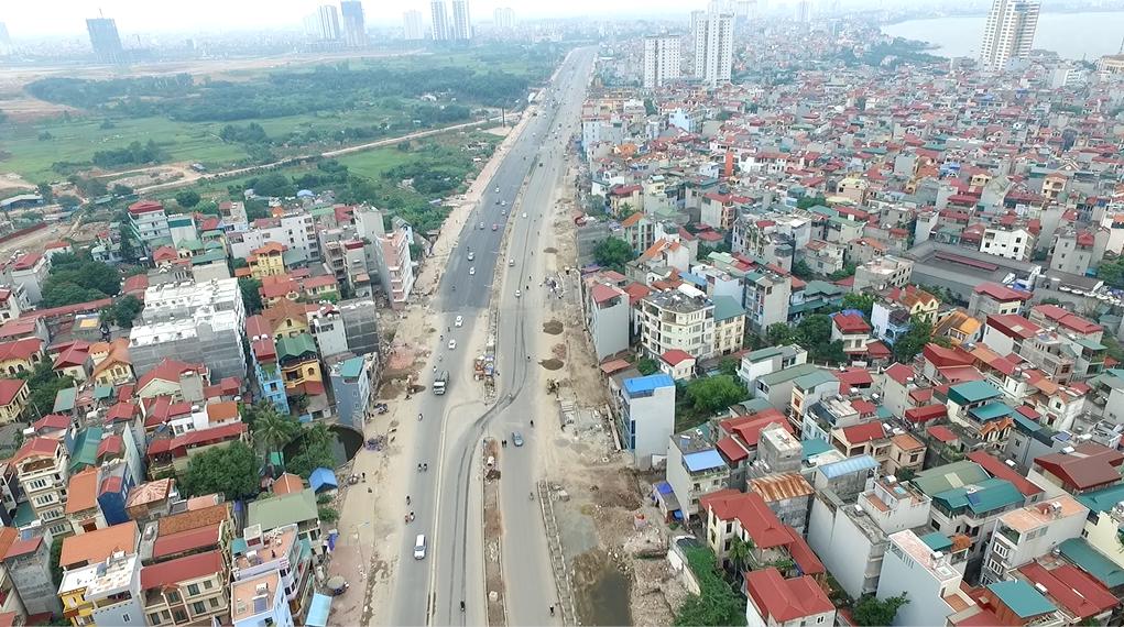 Dự án xây dựng đường vành đai 2 Hà Nội, đoạn Nhật Tân - Xuân La - Bưởi - Cầu Giấy với tổng kinh phí khoảng 6,4 nghìn tỷ đồng, được khởi công xây dựng từ tháng 3/2012. Đến nay, dự án này vừa chính thức thông xe kỹ thuật và đang gấp rút hoàn thiện những khâu cuối cùng.