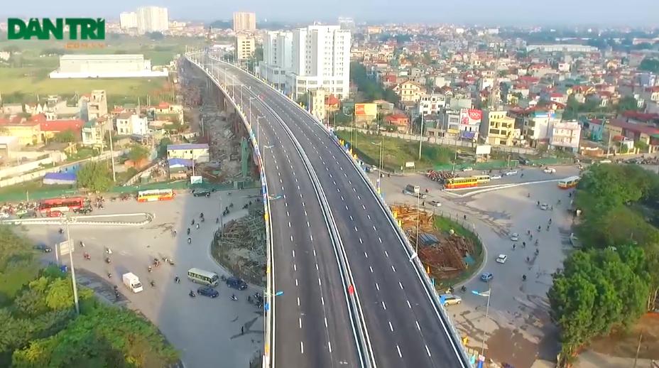 Nút giao thông Long Biên dài hơn 800m có tổng mức đầu tư là 2.847 tỷ đồng