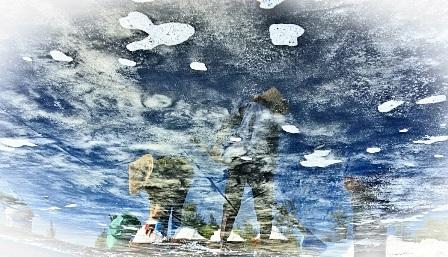 """""""Bóng muối"""" trên cánh đồng muối ở Quảng Nam - 10"""