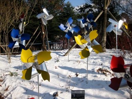 """""""Thưởng thức"""" mùa tuyết trắng ở Hàn Quốc - 9"""