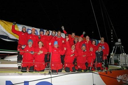 Đội thuyền buồm Đà Nẵng – Việt Nam về đích chặng thứ 3 ở vị trí thứ 8
