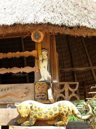 Độc đáo nghệ thuật điêu khắc gỗ của đồng bào Cơtu Quảng Nam - 19