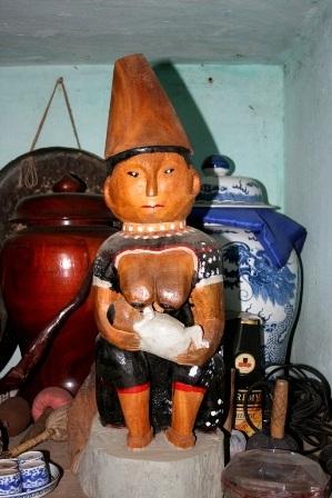 Độc đáo nghệ thuật điêu khắc gỗ của đồng bào Cơtu Quảng Nam - 8