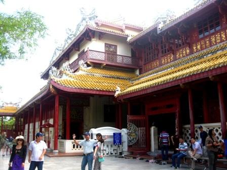 Những ngôi chùa ở Ayutthaya