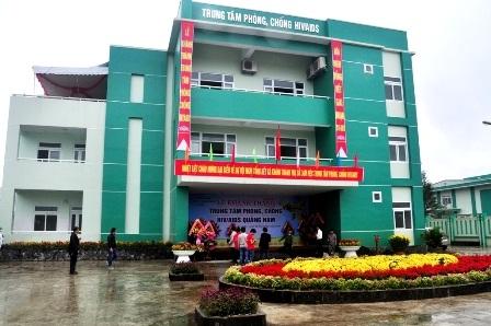 Trung tâm phòng, chống HIV/AIDS của tỉnh Quảng Nam khánh thành ngày 26/2