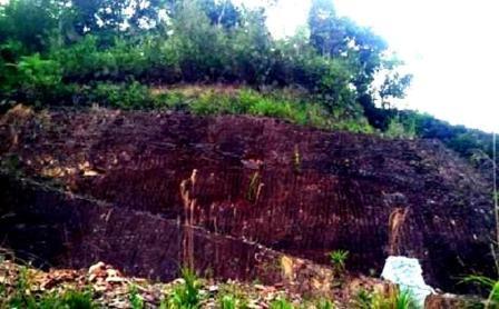 Ngọn núi nơi Bí thư huyện ủy Tây Giang đào hầm