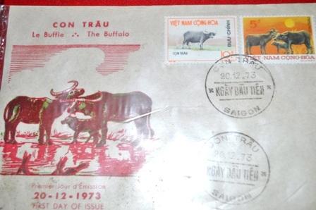 Ngày đầu tiên phát hành tem