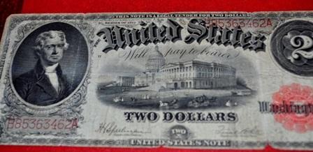 Tờ 2 USD năm 1917