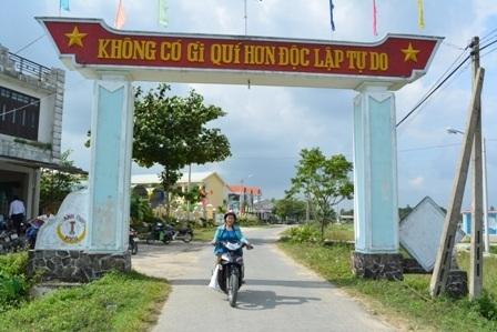 Thị xã Điện Bàn khang trang, sạch đẹp hơn trong quá trình xây dựng NTM