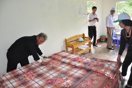 Những ngày đầu mới mở cửa, cũng có khách ở lại làng du lịch cộng đồng Mỹ Sơn nhưng hiện nay rất vắng khách