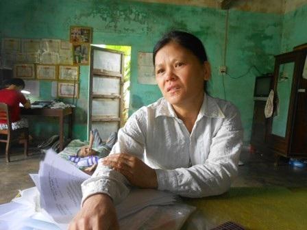 Cô Hương, mẹ Hùng Anh xúc động khi nhắc về con