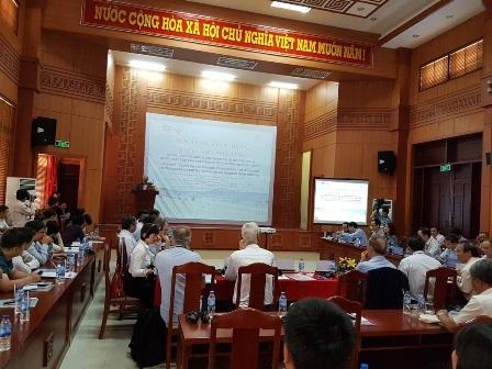 Các đại biểu dự hội thảo khởi động dự án