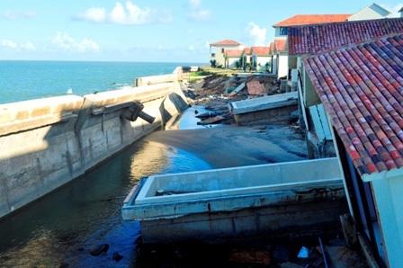 Hiện tượng xói lở xảy ra ngày càng nghiêm trong tại biển Cửa Đại