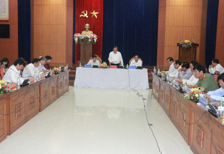 Phó Thủ tướng Trương Hòa Bình làm việc với lãnh đạo tỉnh Quảng Nam
