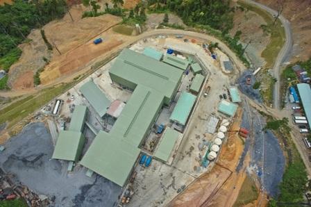 Phó Thủ tướng yêu cầu kiên quyết với các công ty vàng nợ thuế. Trong ảnh: Nhà máy vàng Đắk Sa của Công ty TNHH vàng Phước Sơn