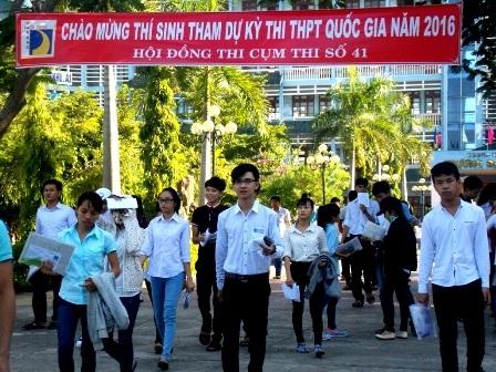Tỉ lệ đỗ tốt nghiệp THPT đối với học sinh trên địa bàn Quảng Nam trên 87%. (Ảnh: Công Bính)