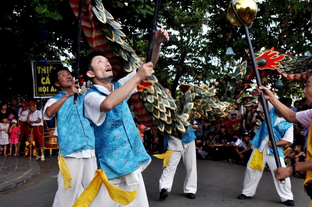 Múa rồng một nét văn hóa truyền thống độc đáo của Nhật Bản