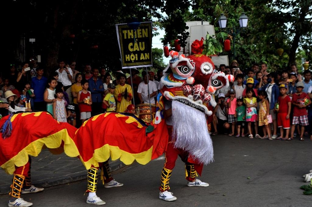 Múa thiên cẩu, nét truyền thống độc đáo của Hội An nói riêng và Việt Nam nói chung