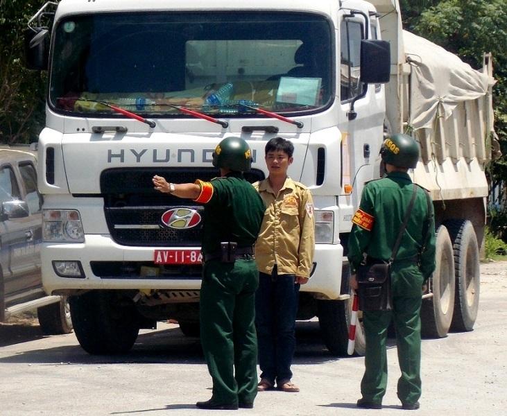 Lực lượng kiểm soát quân sự vào cuộc phối hợp kiểm tra