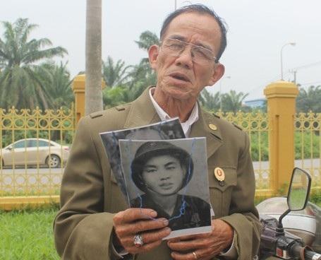 Cựu chiến binh Trần Kiệm chia sẻ suy nghĩ của mình về phiên xét xử