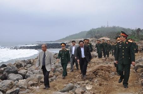 Đảo Cồn Cỏ ngày nay đang được đầu tư, xây dựng nhiều hạng mục nhằm thúc đẩyphát triển kinh tế, xã hội