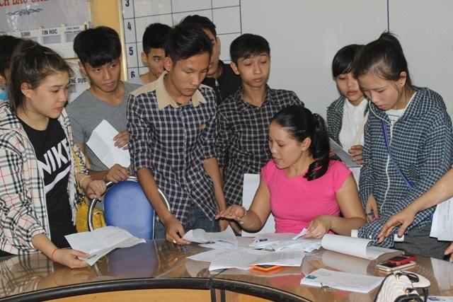 Các giấy tờ ưu tiên thí sinh phải nộp trước ngày thi