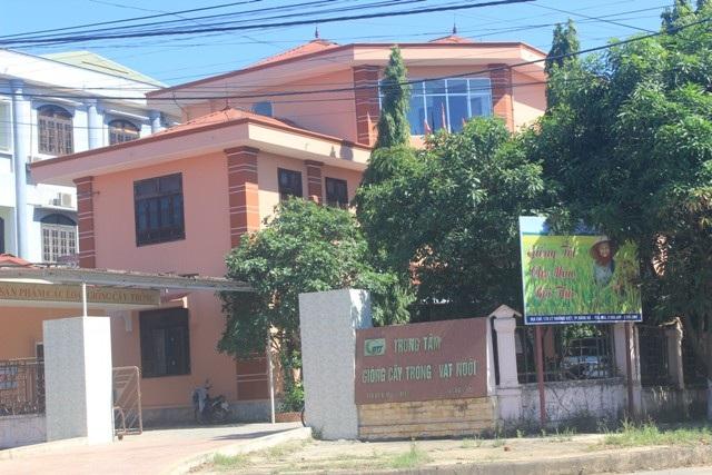 Trung tâm giống Vật nuôi, cây trồng Quảng Trị - nơi phát hiện nhiều sai phạm