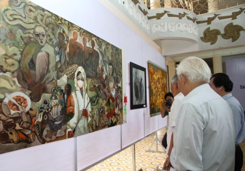 Hơn 250 tác phẩm tham gia triển lãm mỹ thuật Bắc miền Trung - 3
