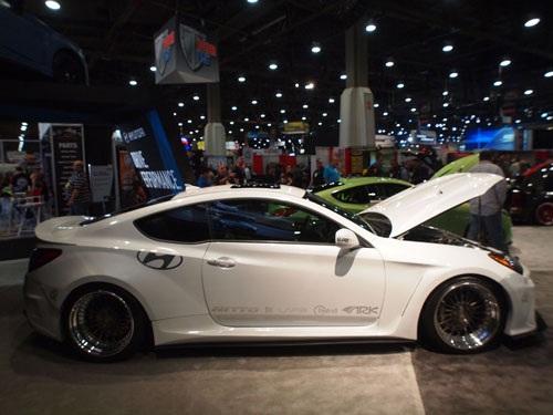 Hyundai ARK Solus Genesis Coupe