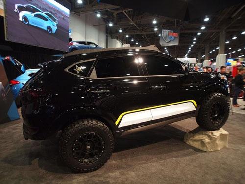 Mẫu xe off-roadRockstar Tucson