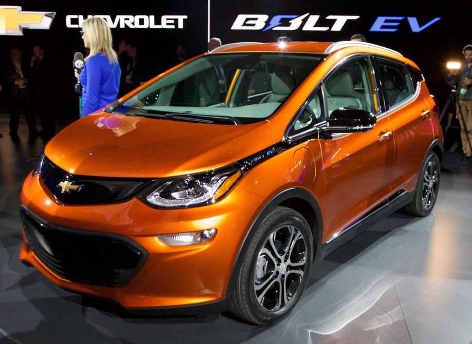 Mẫu Chevrolet Bolt mới chạy động cơ điện