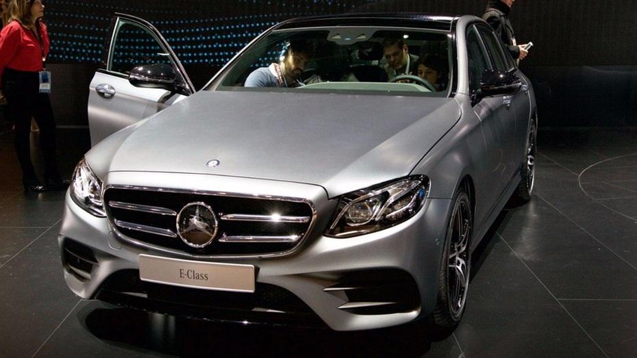 Mercedes E-Class trông như phiên bản thu nhỏ của S-Class