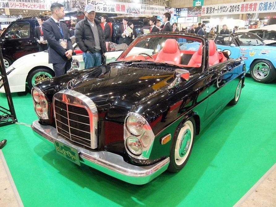 Daihatsu Copen được dựng theo phong cách Mercedes SEL 1960