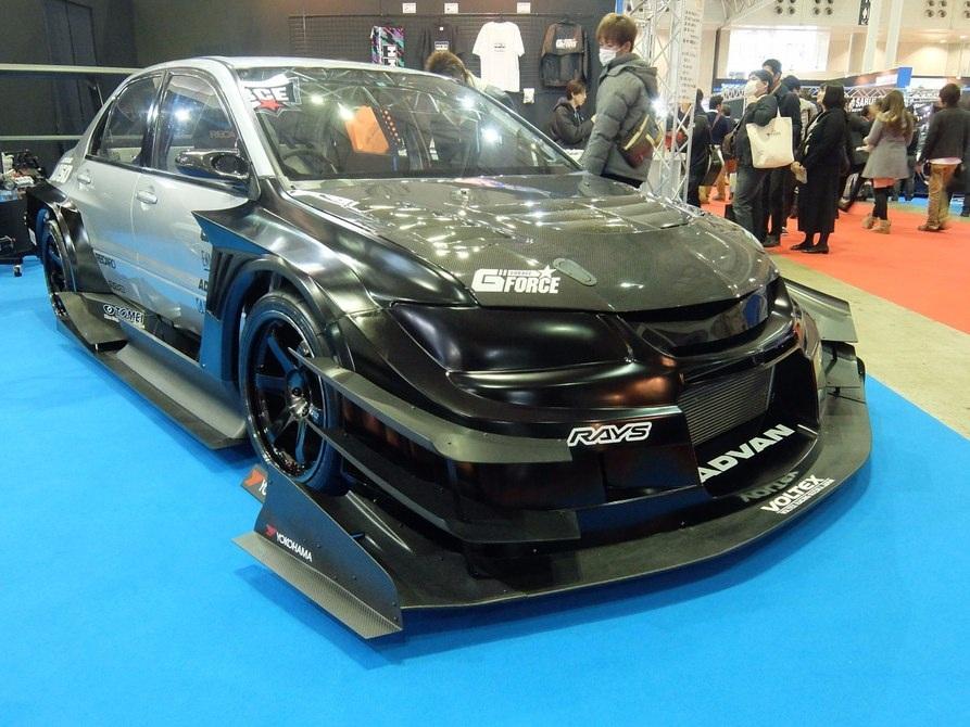 Phiên bản độ mang tên Garage G- Force của chiếcMitsubishi EVO