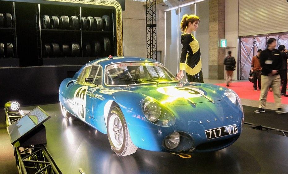 Mẫu xe đua cổ điển theo phong cách châu Âu có tên gọi Alpine M63 Prototype