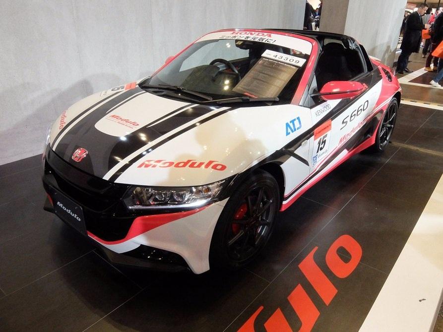 Phiên bản xe đua của chiếc Honda S660, được thiết kế bởi hãng Modulo