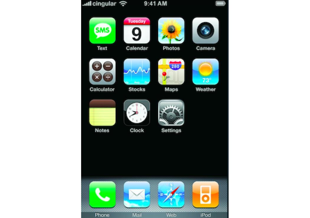 Nhìn lại những thay đổi của iOS trong gần một thập kỷ qua - 1