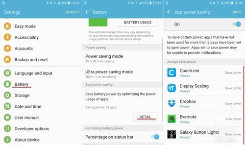 14 thủ thuật tiết kiệm pin hiệu quả trên Samsung Galaxy S7/S7 Edge - 14